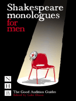 Shakespeare Monologues for Men