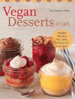 Vegan Desserts in Jars