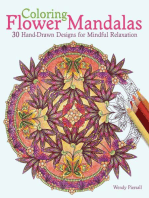 Coloring Flower Mandalas