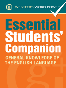 Webster's Word Power Essential Students' Companion: General Knowledge of the English Language