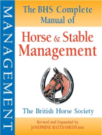 BHS Complete Manual of Horse and Stable Management