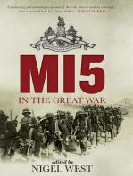 MI5 in the Great War