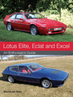 Lotus Elite, Eclat and Excel