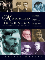 Married to Genius: A fascinating insight into the married lives of nine modern writers.