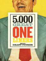 5,000 Great One Liners