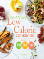 Quick and Easy Low Calorie Cookbook