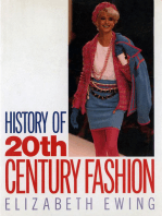 History of 20th Century Fashion