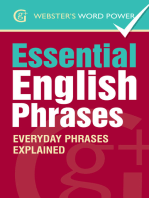 Webster's Word Power Essential English Phrases: Everyday Phrases Explained