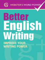Webster's Word Power Better English Writing