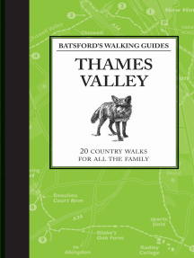 Batsford's Walking Guides: Thames Valley: 20 country walks for all the family