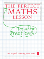 The Perfect Maths Lesson