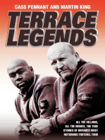 Terrace Legends - The Most Terrifying and Frightening Book Ever Written About Soccer Violence