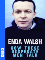 How These Desperate Men Talk (NHB Modern Plays)