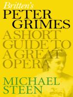 Britten's Peter Grimes