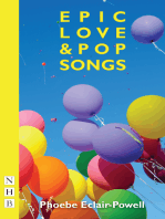 Epic Love and Pop Songs (NHB Modern Plays)
