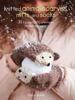Knitted Animal Scarves, Mitts and Socks