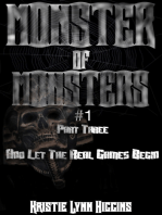 Monster of Monsters #1 Part Three