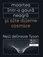 Moartea într-o gaură neagră și alte dileme cosmice