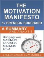 The Motivation Manifesto by Brendon Burchard
