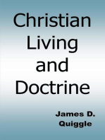 Christian Living and Doctrine