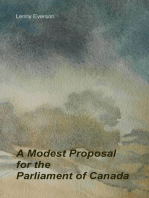 A Modest Proposal for the Parliament of Canada