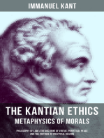 THE KANTIAN ETHICS