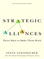 Strategic Alliances: Three Ways to Make Them Work