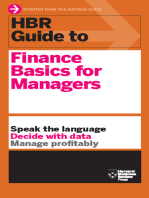 HBR Guide to Finance Basics for Managers (HBR Guide Series)