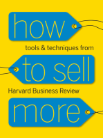 How to Sell More: Tools and Techniques from Harvard Business Review