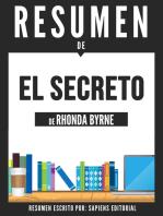 El Secreto (The Secret) - Resumen Del Libro De Rhonda Byrne