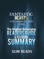Fantastic Beasts and Where to Find Them: The Original Screenplay Readers Guide & Textbook Summary