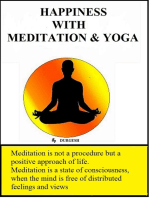Happiness with Meditation & Yoga