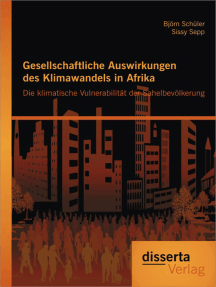 Gesellschaftliche Auswirkungen des Klimawandels in Afrika: Die klimatische Vulnerabilität der Sahelbevölkerung