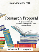 Research Proposal: Academic Writing Guide for Graduate Students