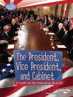 The President, Vice President, and Cabinet