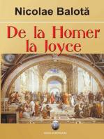 De la Homer la Joyce