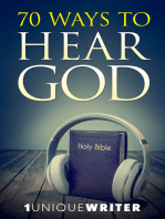70 Ways To Hear God