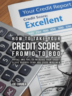 How to Take Your Credit Score from 0 to 800