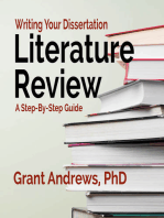 Writing Your Dissertation Literature Review