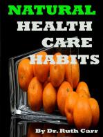 Natural Health Care Habits