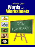 Preston Lee's Words and Worksheets