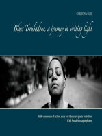Blues Troubadour, a journey in writing light