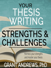 Your Thesis Writing Strengths and Challenges