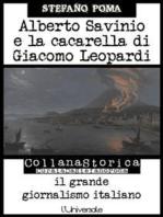 Alberto Savinio e la cacarella di Giacomo Leopardi