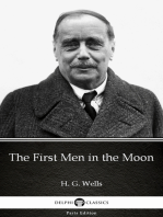 The First Men in the Moon by H. G. Wells (Illustrated)