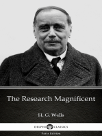 The Research Magnificent by H. G. Wells (Illustrated)
