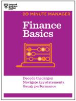 Finance Basics (HBR 20-Minute Manager Series)
