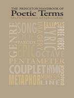 The Princeton Handbook of Poetic Terms: Third Edition