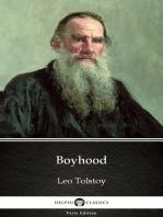Boyhood by Leo Tolstoy (Illustrated)