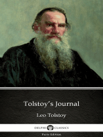 Tolstoy's Journal by Leo Tolstoy (Illustrated)
